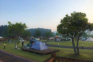 設備が磨きこまれているほど綺麗 大鬼谷オートキャンプ場